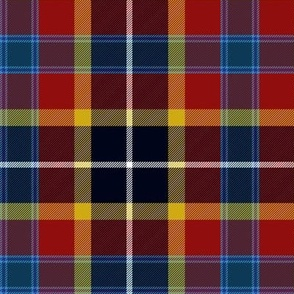 Maryland tartan 2 - flag colors