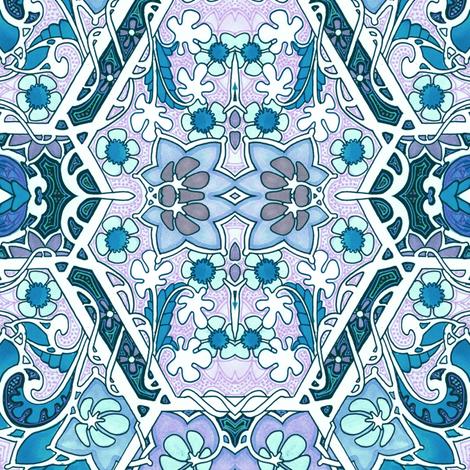 Geometric Garden Twist fabric by edsel2084 on Spoonflower - custom fabric