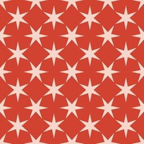 Estrellas - Tomato Red
