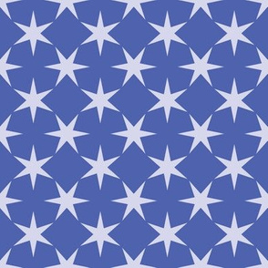 Estrellas - Cornflower Blue