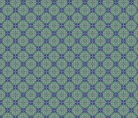 Talavera Tiling 02 fabric by kstarbuck on Spoonflower - custom fabric
