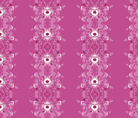 Floating by fabric by floramoon on Spoonflower - custom fabric