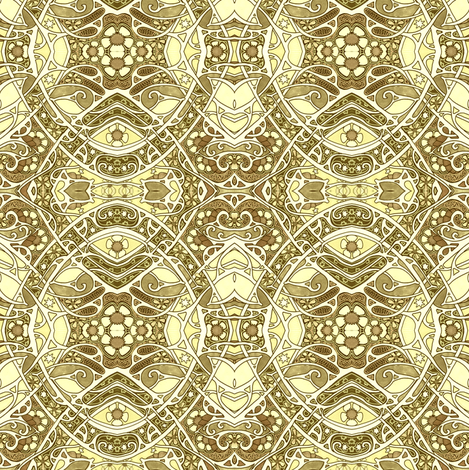 Seeping of Sepia fabric by edsel2084 on Spoonflower - custom fabric