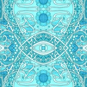 Arabesque Blue