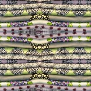 Folded Fabric Stripe lV