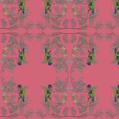 2941 Rainbow Lorikeet#1 - Pink