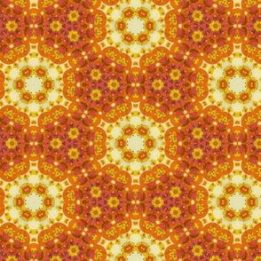 1970's Sunshine floral