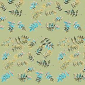 Winged Sumac (Green)
