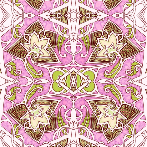 The Sky is Pink  Because I Say So fabric by edsel2084 on Spoonflower - custom fabric