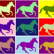 Pop Art Unicorns