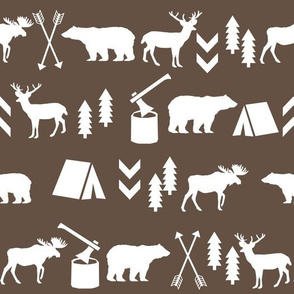 moose animals bear camping logs lumberjack outdoors bear deer moose