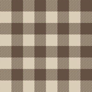 brown checks buffalo plaid plaids tartan checked fabric boys nursery baby