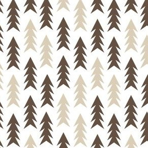 trees evergreen fir tree forest brown and tan outdoors fabric camping design