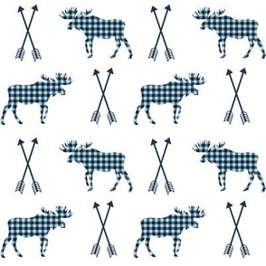moose plaids and arrows check mint and navy moose fabric boys crib sheet boy kids