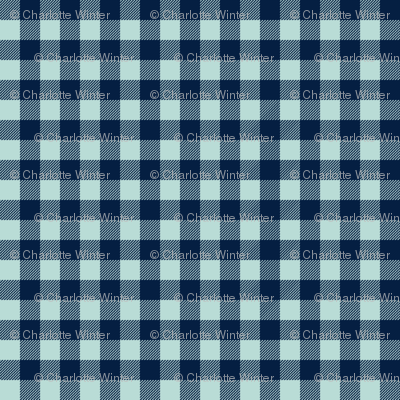 buffalo plaid checks navy and mint check fabric pattern plaid pattern buffalo plaid fabric nursery baby boy