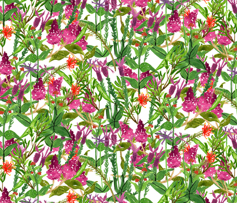 Silverton Garden fabric by zoe_ingram on Spoonflower - custom fabric