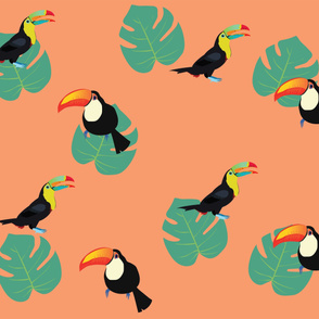 Tropical Toucan Orange