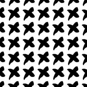 Ink Crosses Seamless Pattern