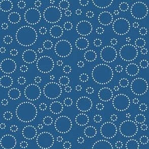 Abigale_and_roo_blue_white_dot_circles