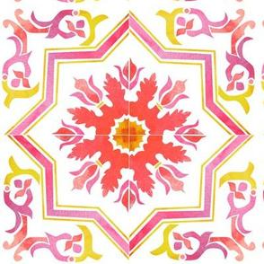 Watercolour tile repeat (Ponte)