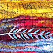 Prairie Feather Impression