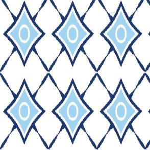 diamond_x_ikat_blue