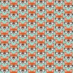Too Cute Fox Aqua One Inch