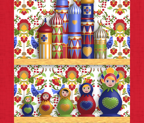 дом Sweet дом (Tea Towels set)