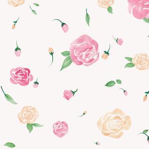 mini roses garden