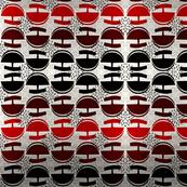Red and black ulu's