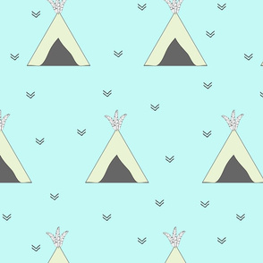 Teepee Mint Large Scale