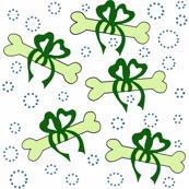 Abigale_and_roo_dog_bones_green_ribbon