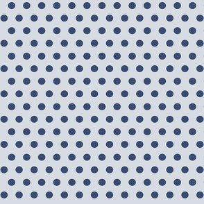 151. Going Dotty Gray & Navy