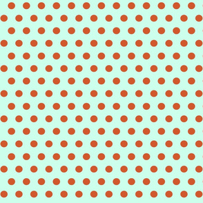151. Going Dotty Aqua Orange