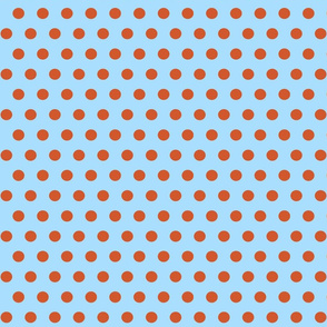 151. Going Dotty Blue Orange