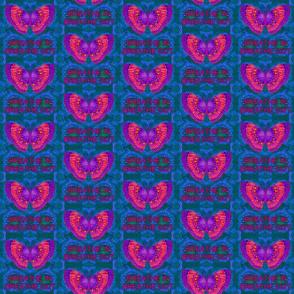 Purple Butterfly Breathe In Breathe Out