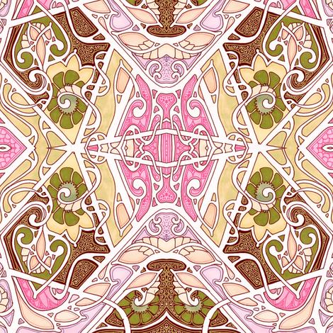 Nouveau Akimbo fabric by edsel2084 on Spoonflower - custom fabric