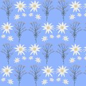 2941 Flannel_Flower#1 -Blue
