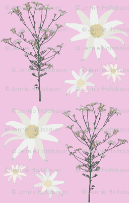 2941 Flannel_Flower#1 -Mauve