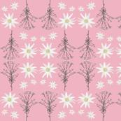 2941 Flannel_Flower#1 -Pink
