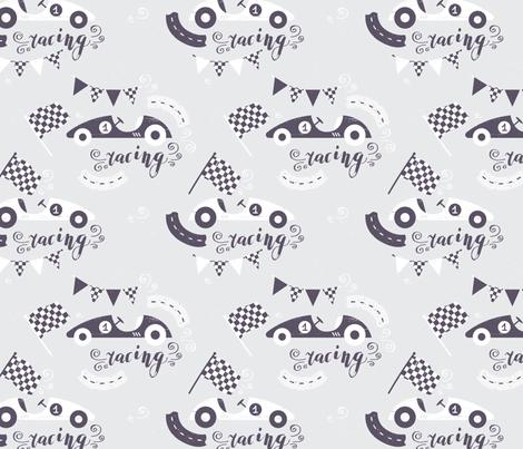 Racing fabric by innamoreva on Spoonflower - custom fabric