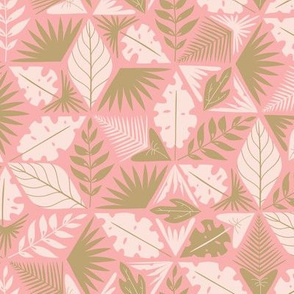 Tropical puzzle - pink