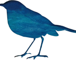 Rbird_royal_blue_aqua_paint_silh_thumb