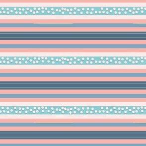 FNB4 - Mini Fizz-n-Bubble Stripes in Pink - Blue - Crosswise