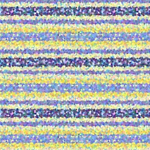 FNB1 - Stripes of Digital Glitter in Lemon Yellow - Violet - Crosswise