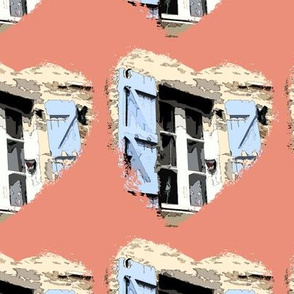 WINDOW HOME IN PROVENCE HEART