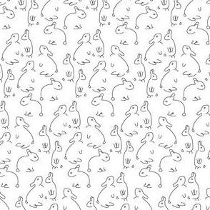Abstract Bunnies