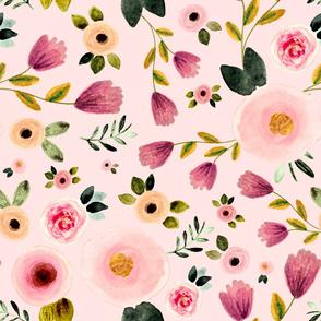 Secret Garden in Pink