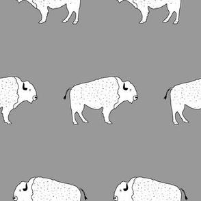 Buffalo March Gray
