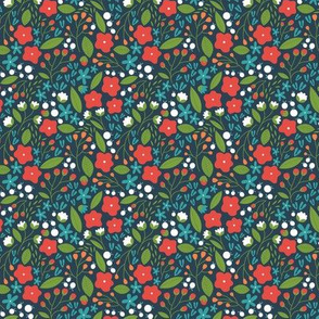 Flower Patch NAVY